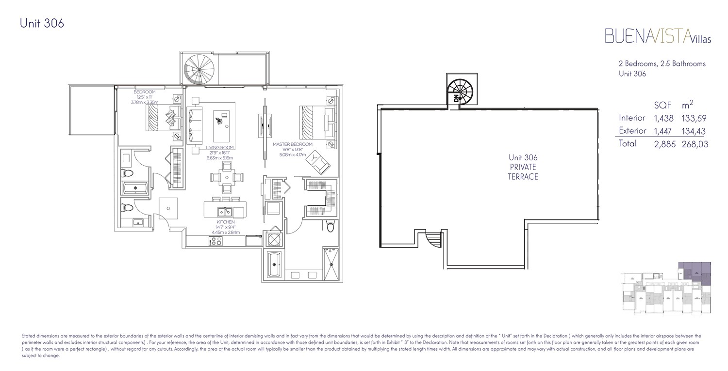Buena Vista Villas - Floorplan 12