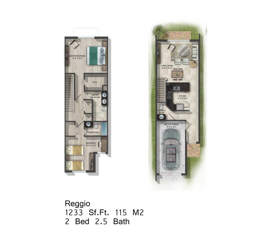 Calabria Residences - Floorplan 2