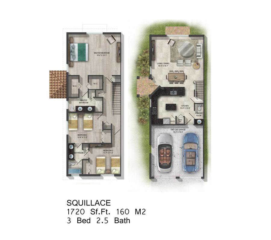 Calabria Residences - Floorplan 3
