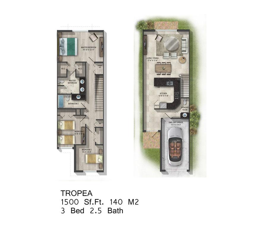 Calabria Residences - Floorplan 4