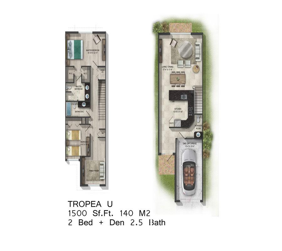 Calabria Residences - Floorplan 5