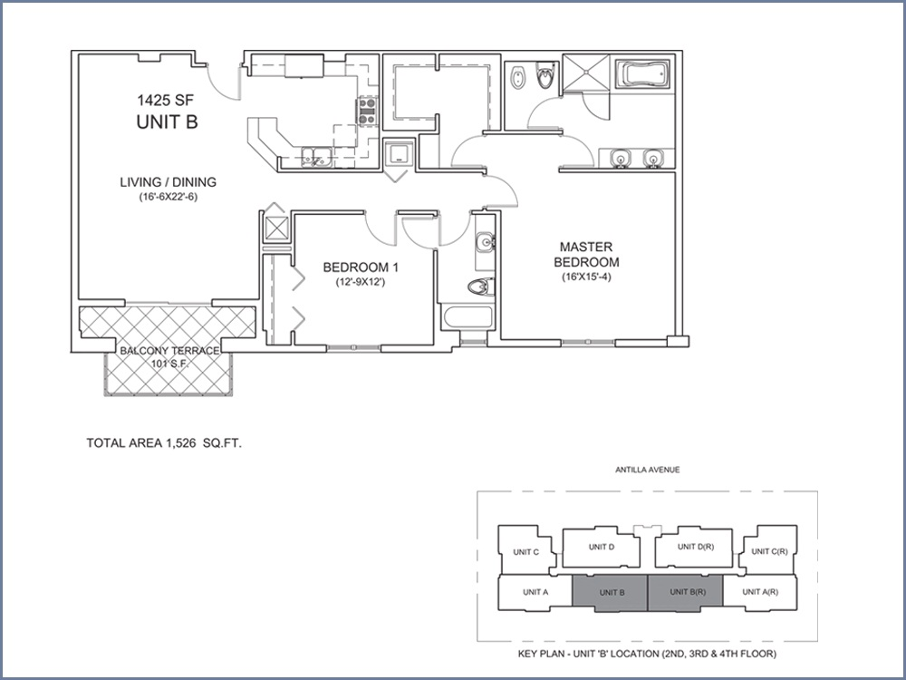 Casa Antilla - Floorplan 2