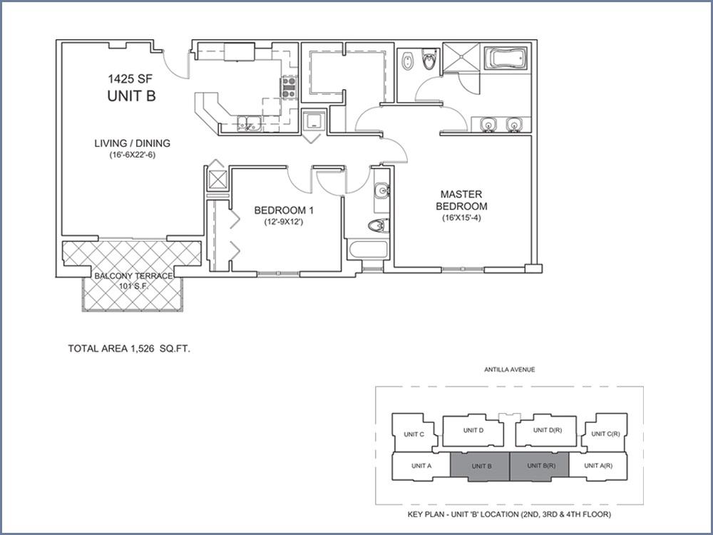 Casa Antilla - Floorplan 2