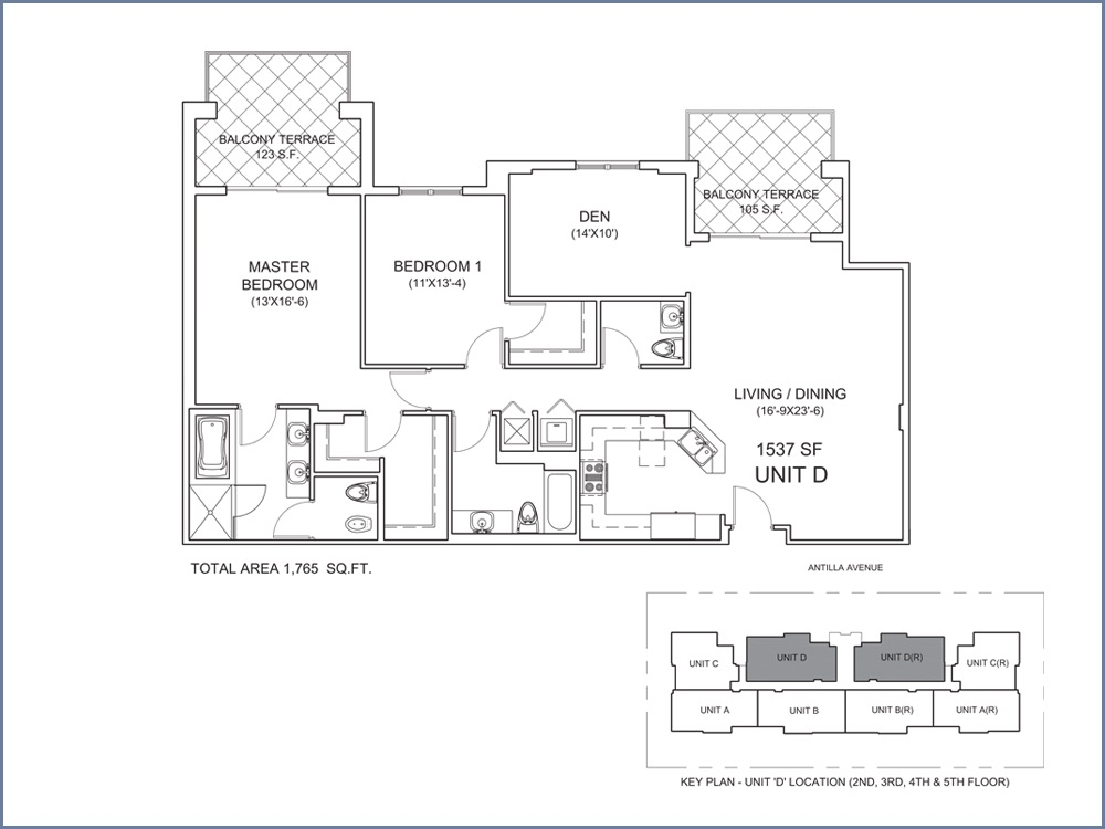 Casa Antilla - Floorplan 4