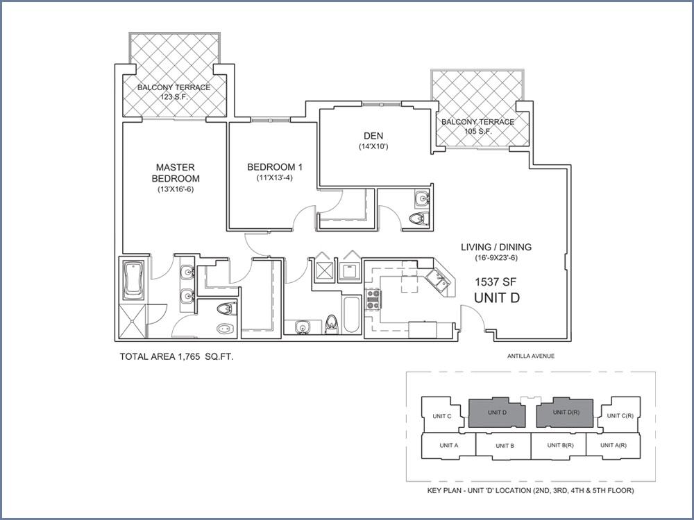 Casa Antilla - Floorplan 4