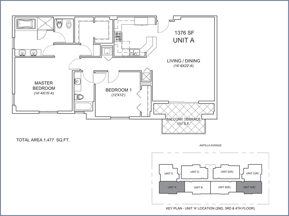Casa Antilla - Floorplan 1