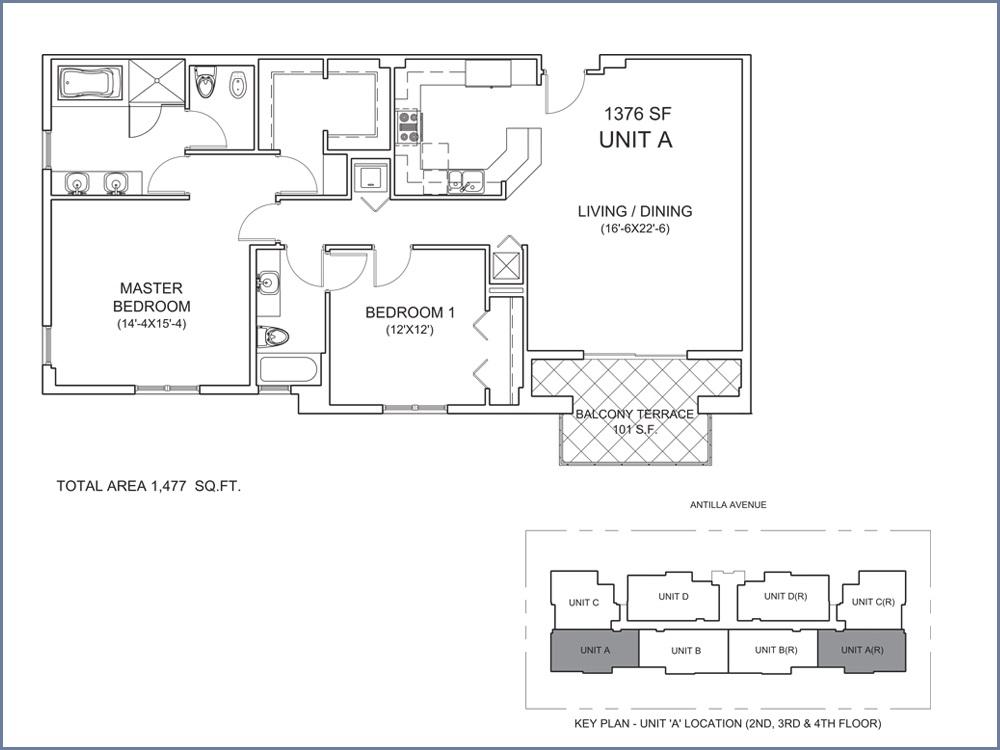 Casa Antilla - Floorplan 1