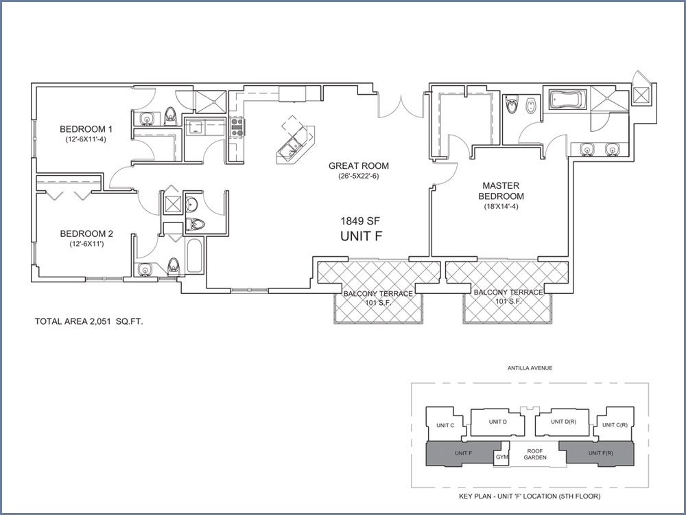 Casa Antilla - Floorplan 6