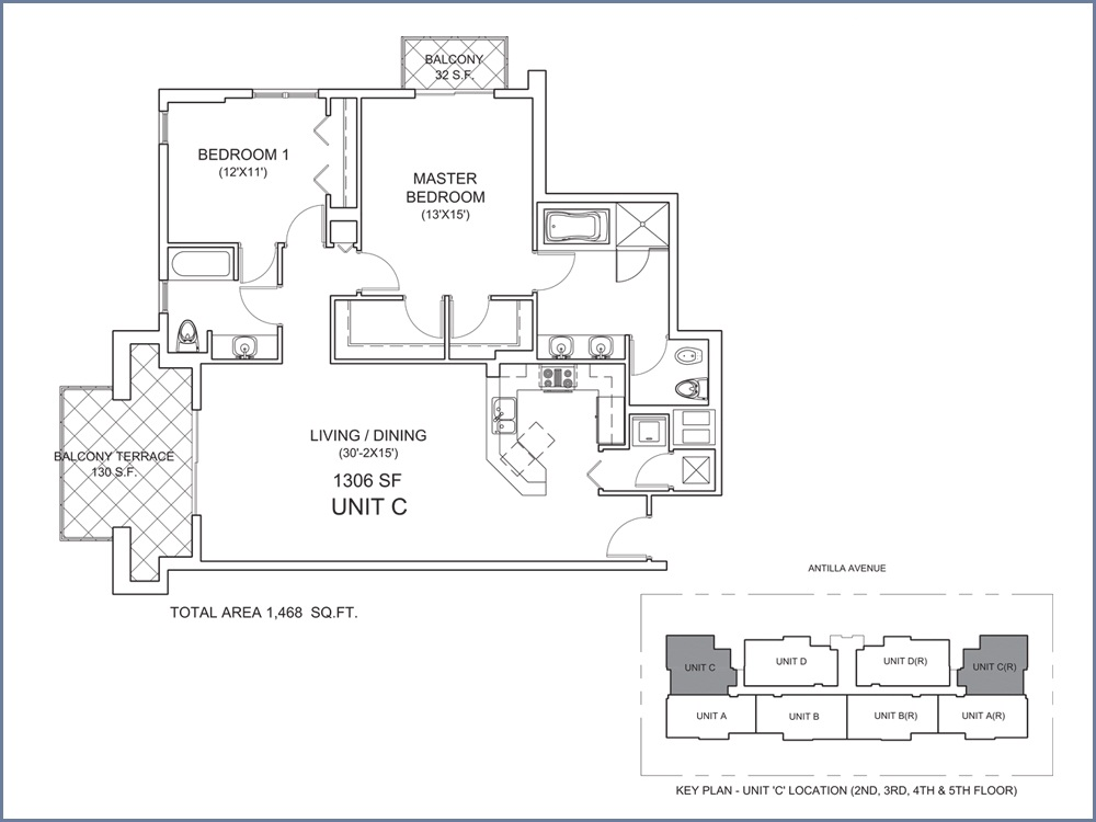 Casa Antilla - Floorplan 3