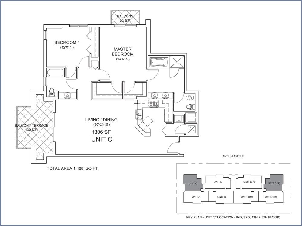 Casa Antilla - Floorplan 3