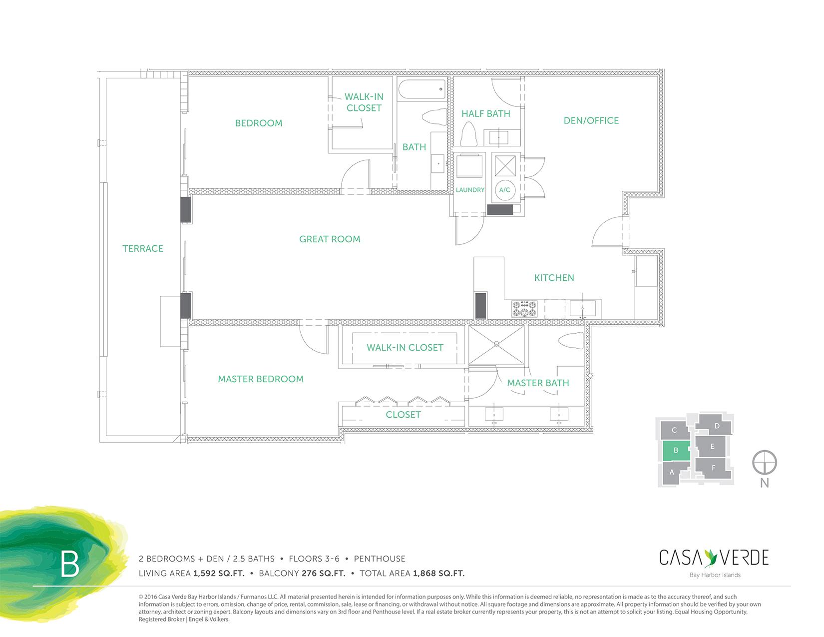 Casa Verde - Floorplan 2
