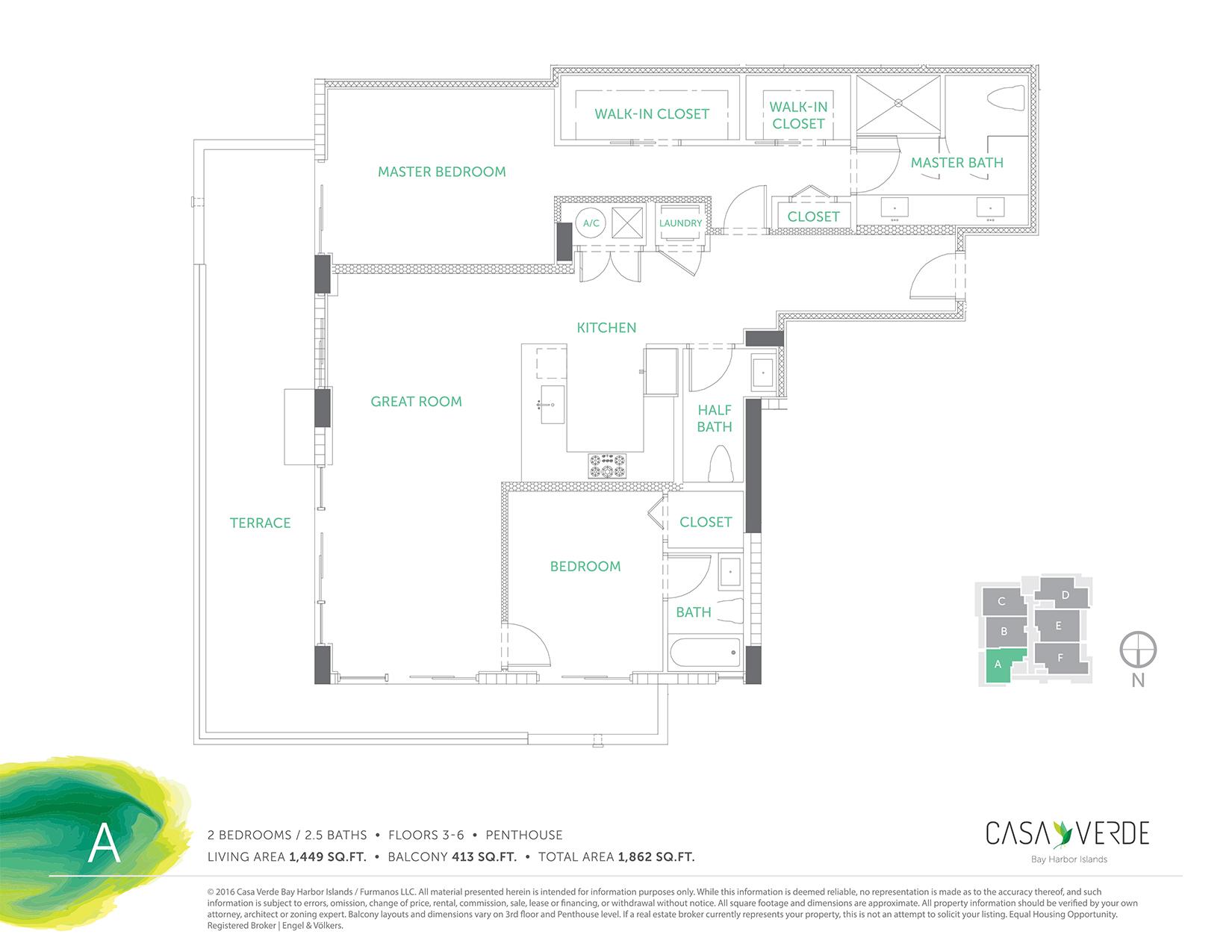 Casa Verde - Floorplan 1