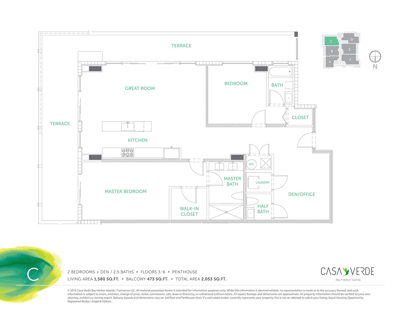 Casa Verde - Floorplan 3