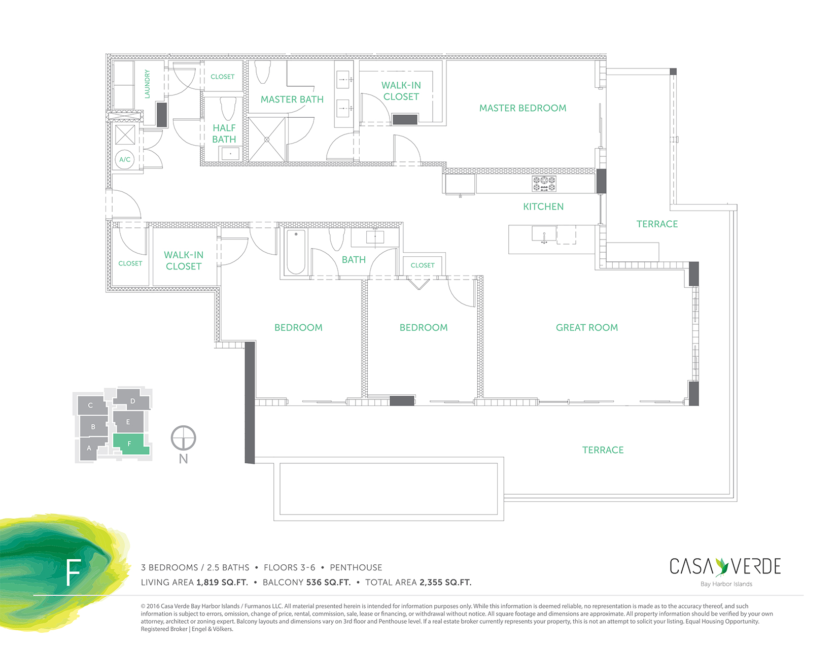 Casa Verde - Floorplan 6