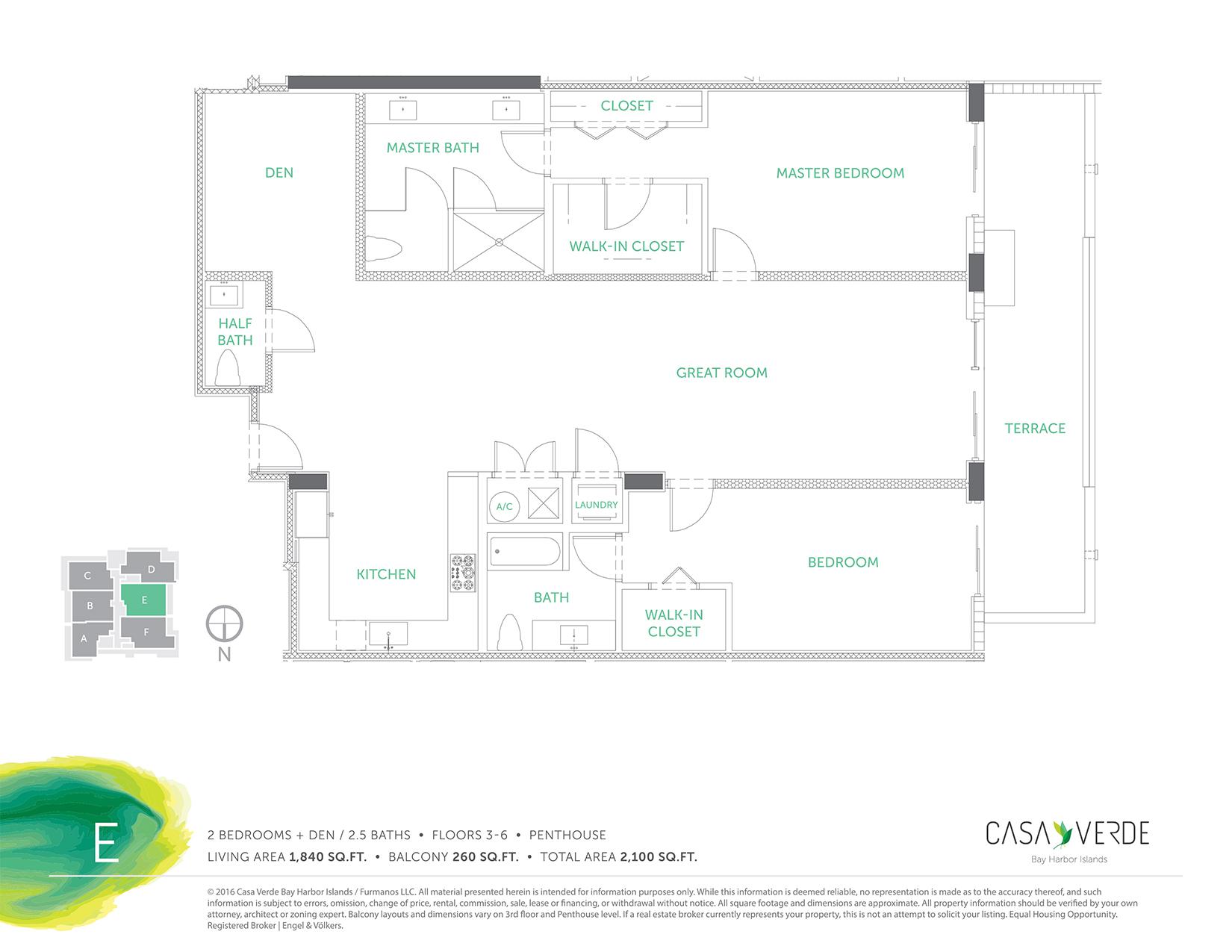 Casa Verde - Floorplan 5