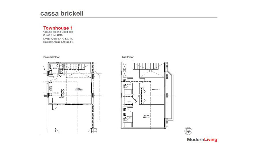 Cassa Brickell - Floorplan 8
