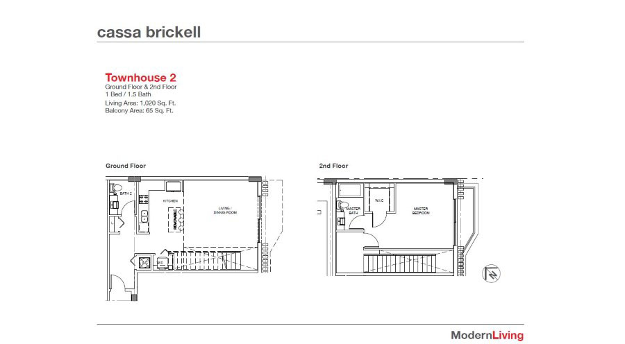Cassa Brickell - Floorplan 9