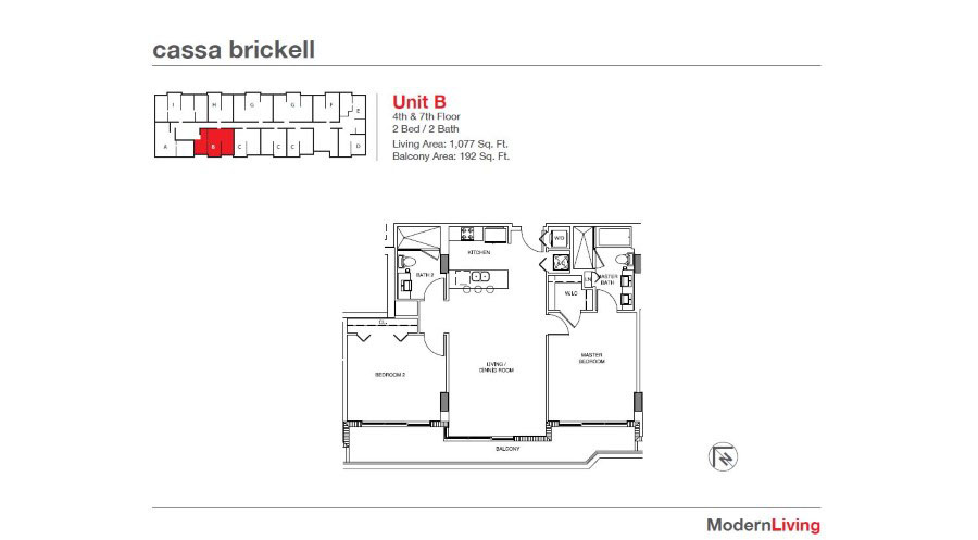 Cassa Brickell - Floorplan 11