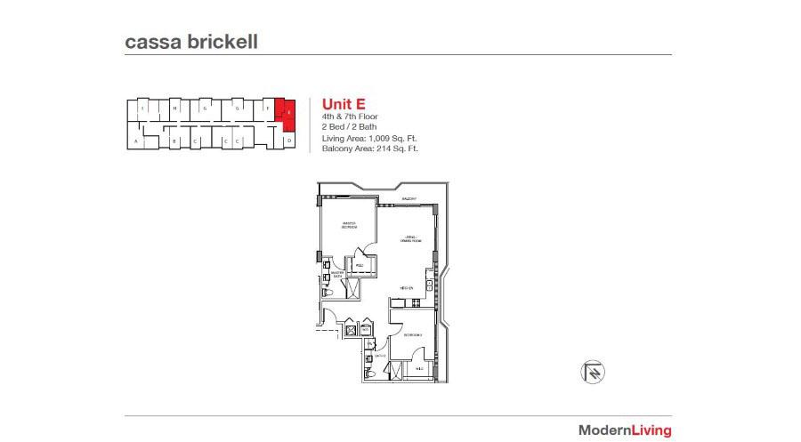 Cassa Brickell - Floorplan 16