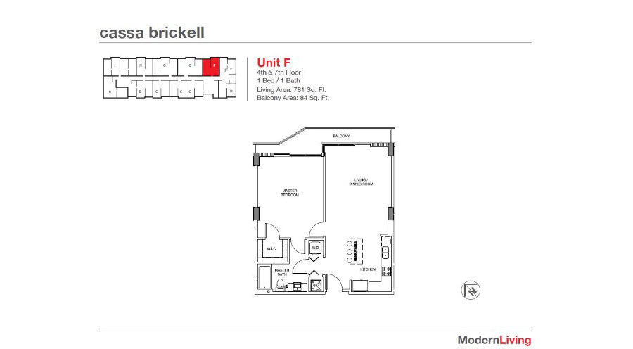 Cassa Brickell - Floorplan 17