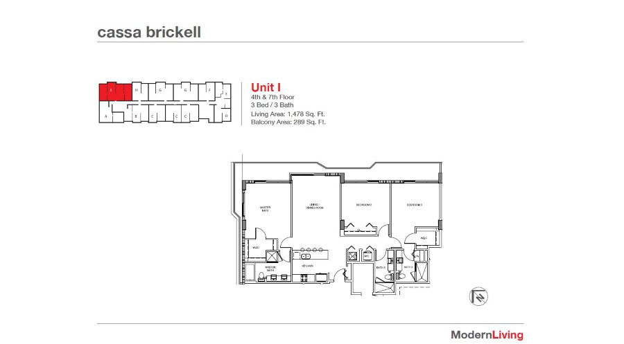 Cassa Brickell - Floorplan 20