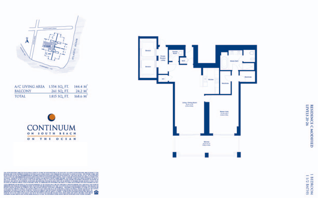 Continuum North - Floorplan 2