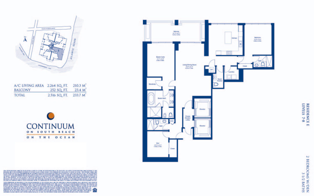 Continuum North - Floorplan 4