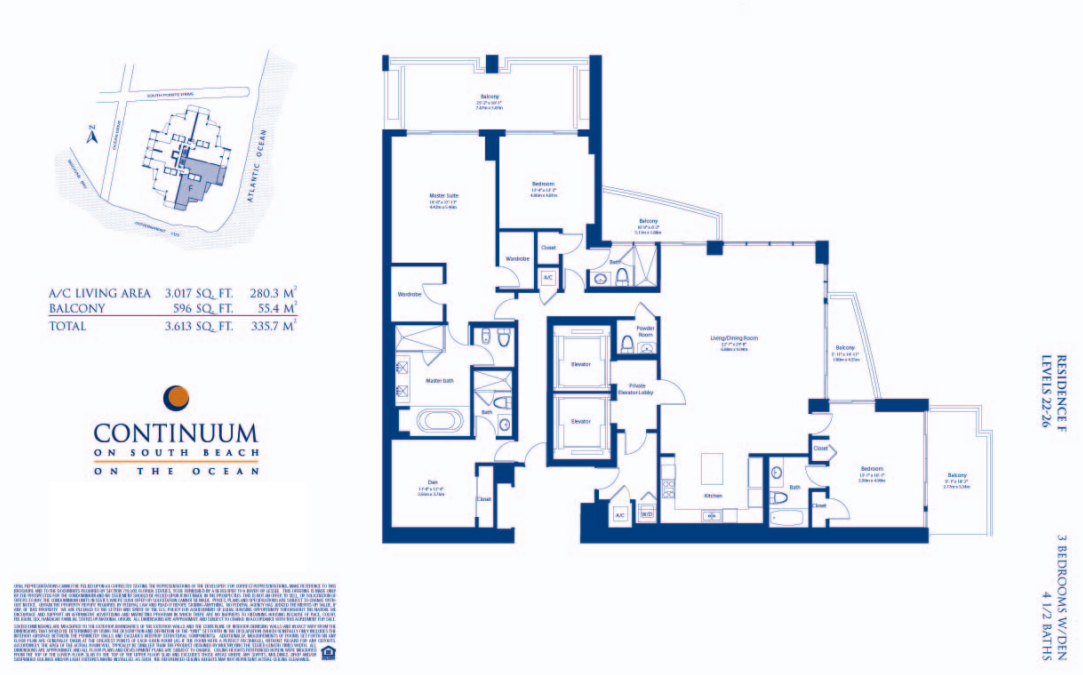 Continuum North - Floorplan 5