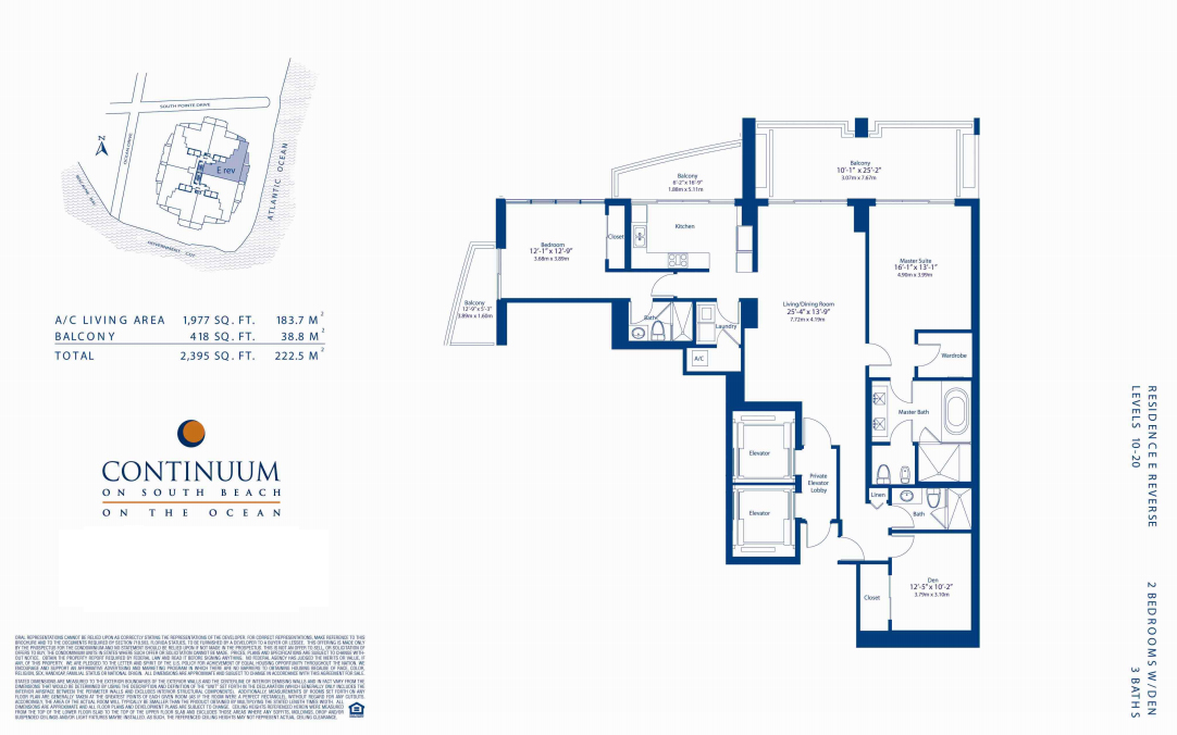Continuum North - Floorplan 7