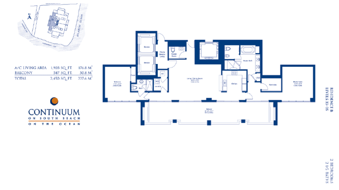 Continuum South - Floorplan 2