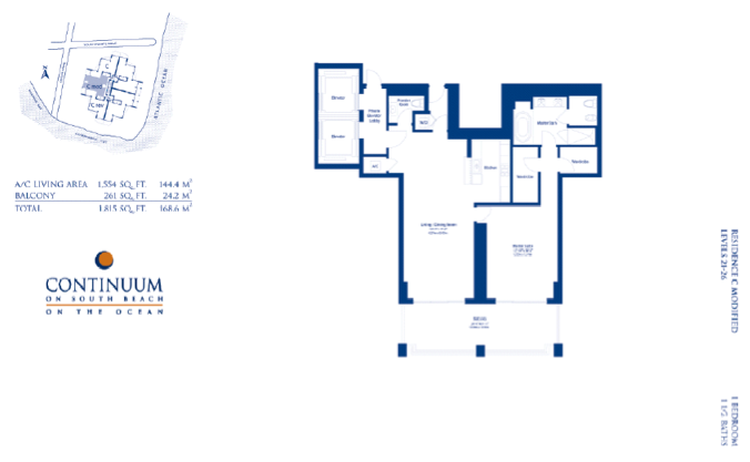 Continuum South - Floorplan 5