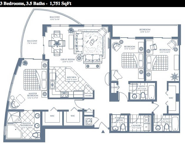 Duo - Floorplan 1