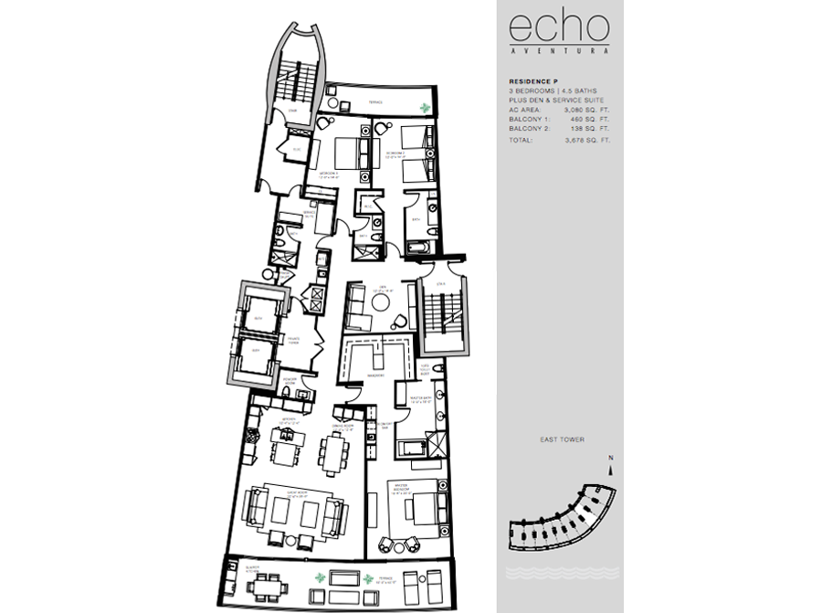 ECHO Aventura - Floorplan 7