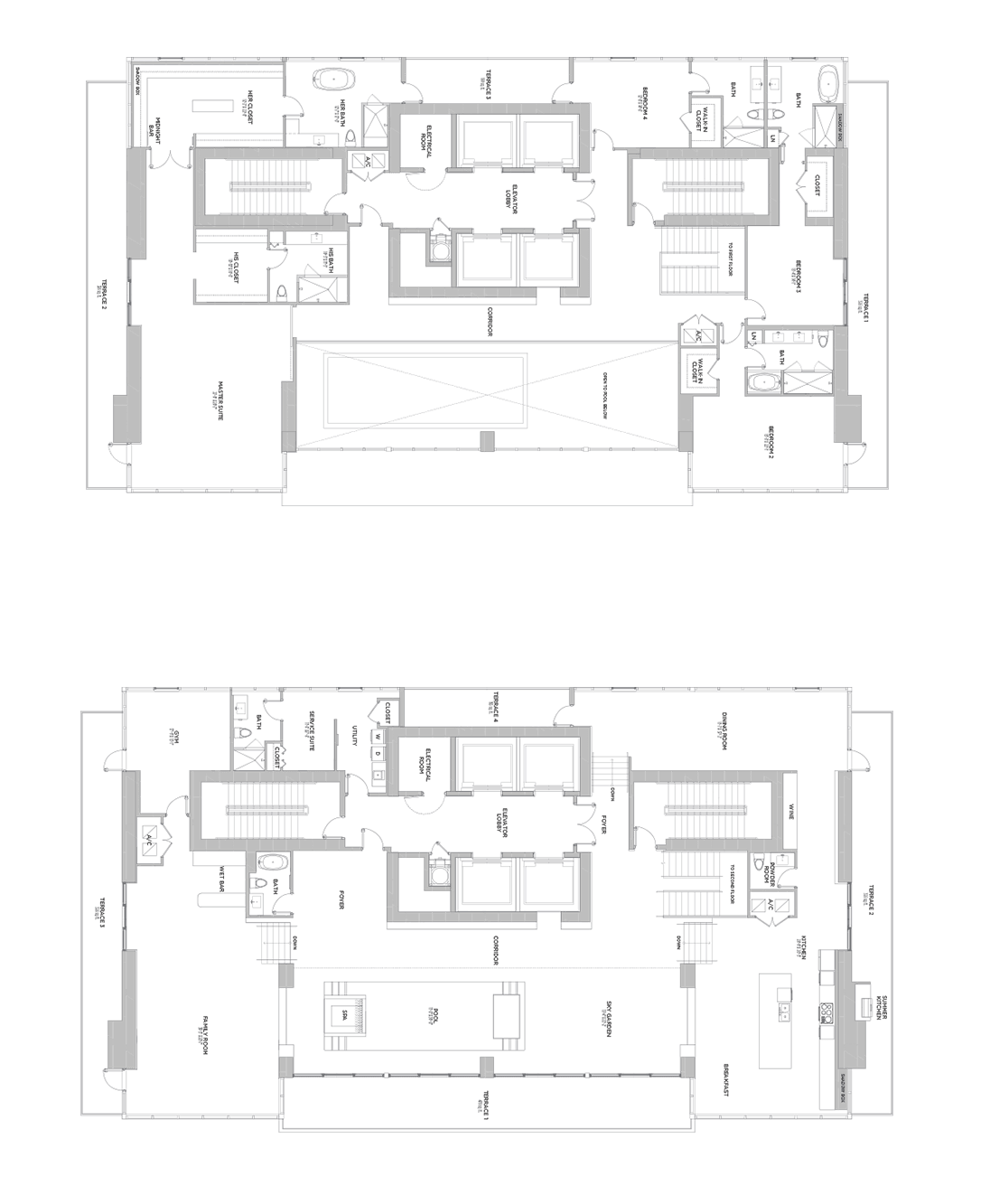 ECHO Brickell - Floorplan 1