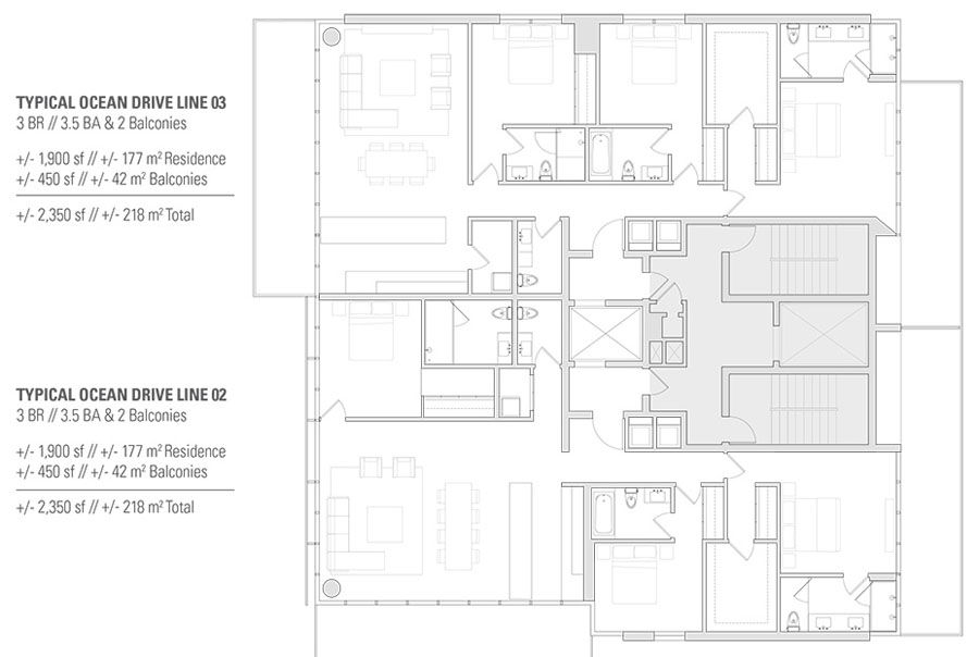 Edition Miami Beach Residences - Floorplan 1