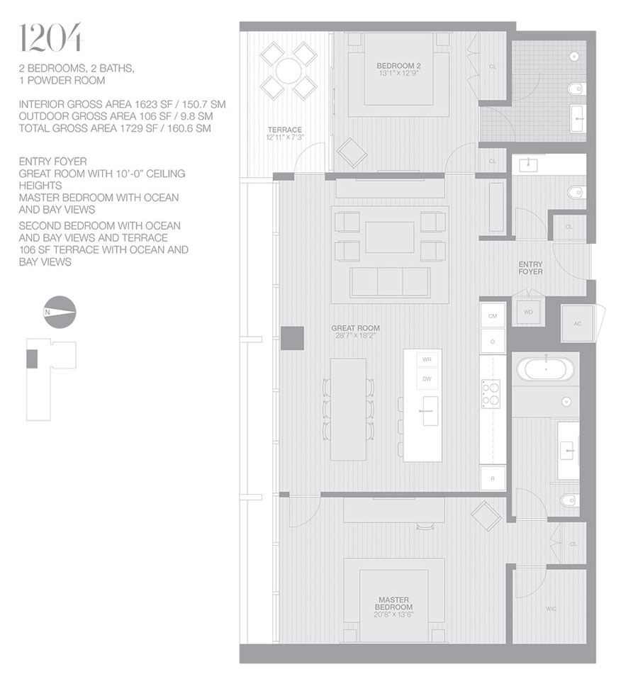 Edition Miami Beach Residences - Floorplan 3