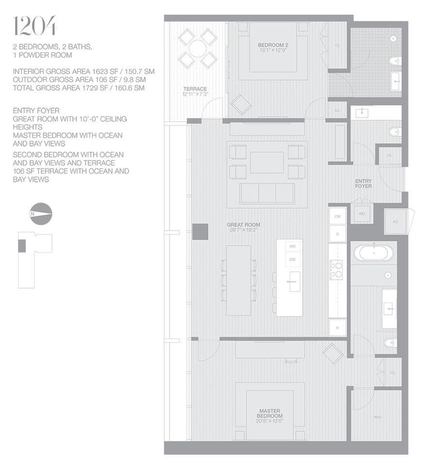 Edition Miami Beach Residences - Floorplan 3