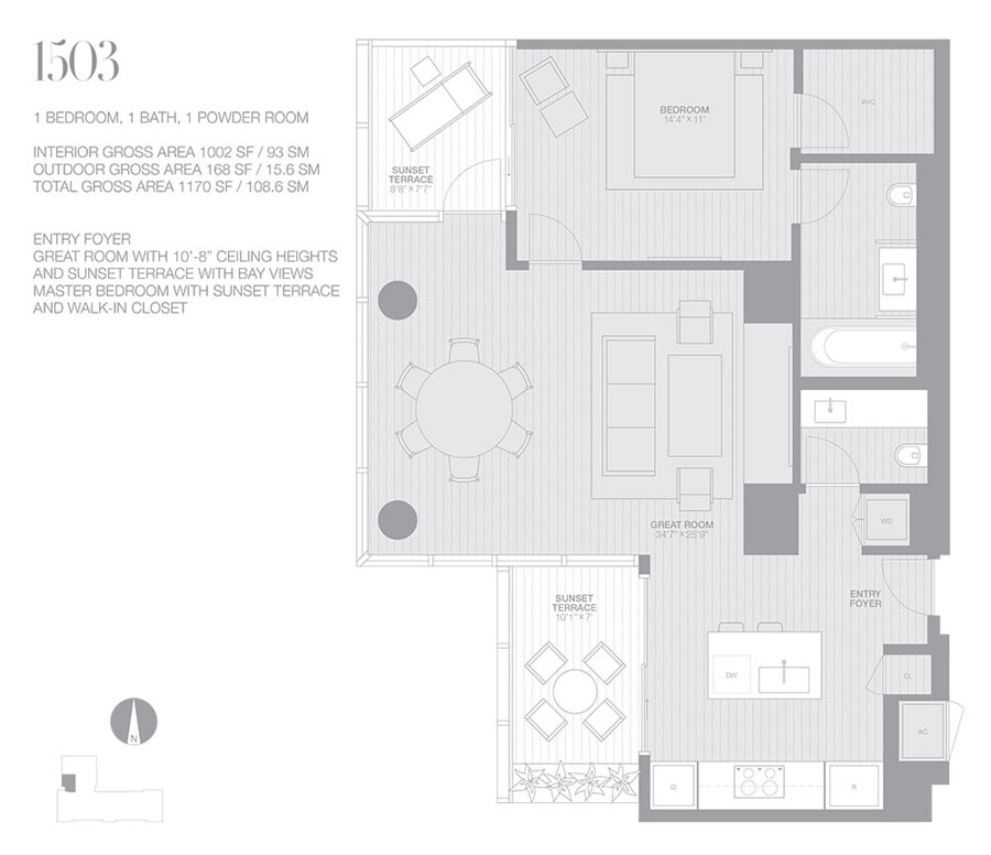 Edition Miami Beach Residences - Floorplan 4