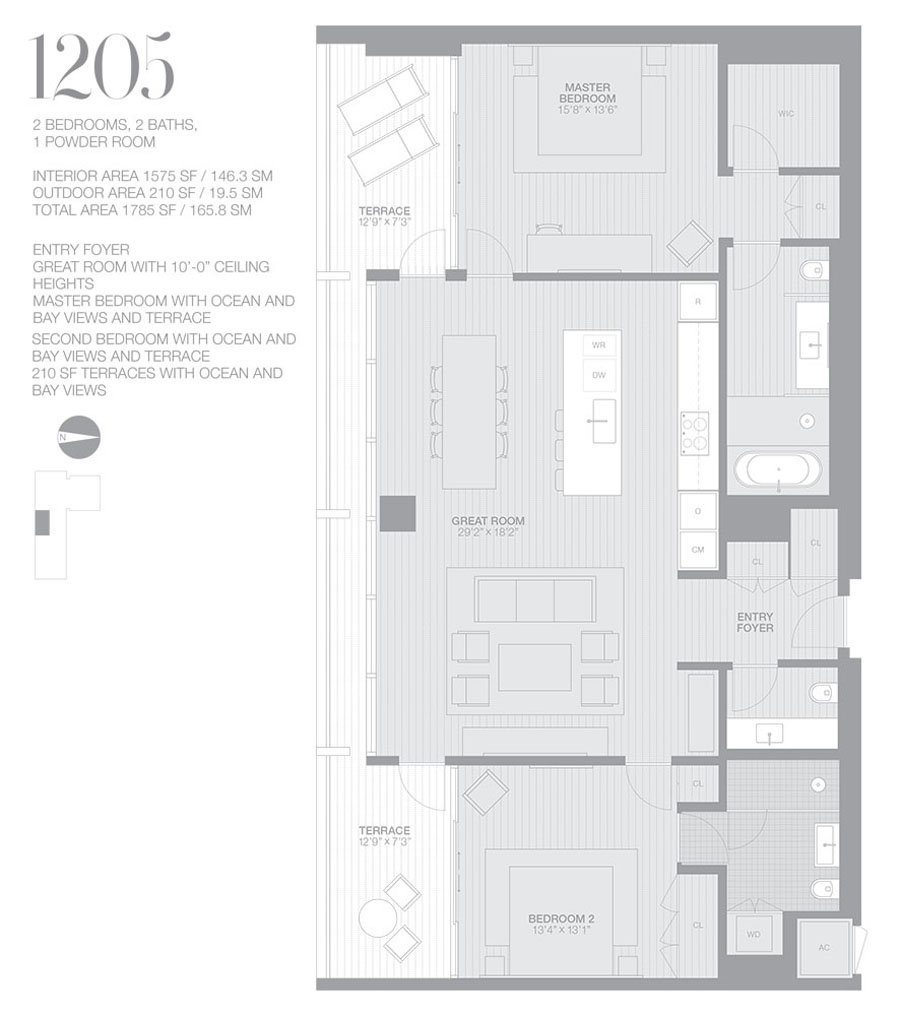Edition Miami Beach Residences - Floorplan 5