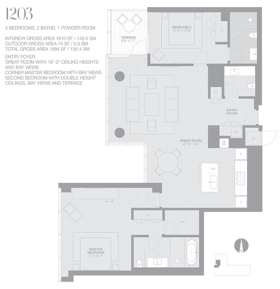 Edition Miami Beach Residences - Floorplan 6