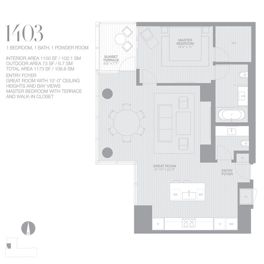 Edition Miami Beach Residences - Floorplan 7