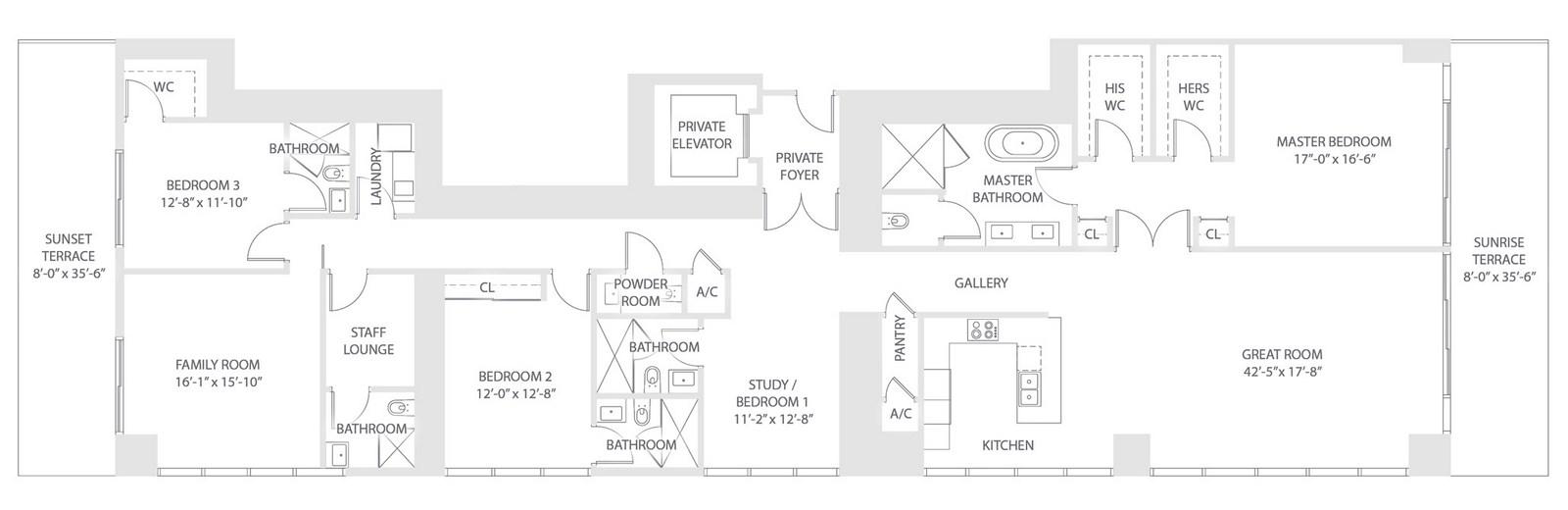 Elysee - Floorplan 5