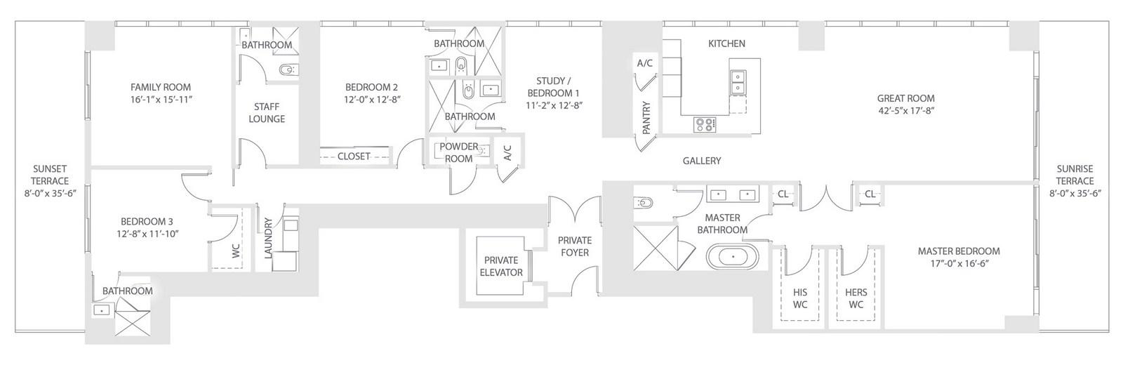 Elysee - Floorplan 7