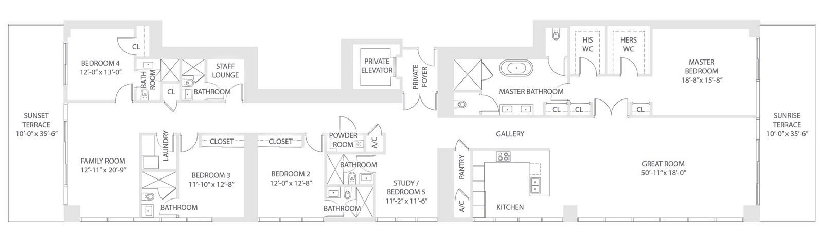 Elysee - Floorplan 8