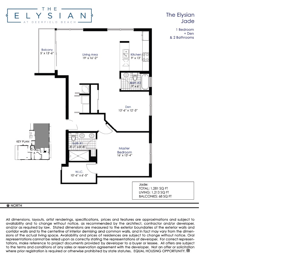 Elysian at Deerfield Beach - Floorplan 2