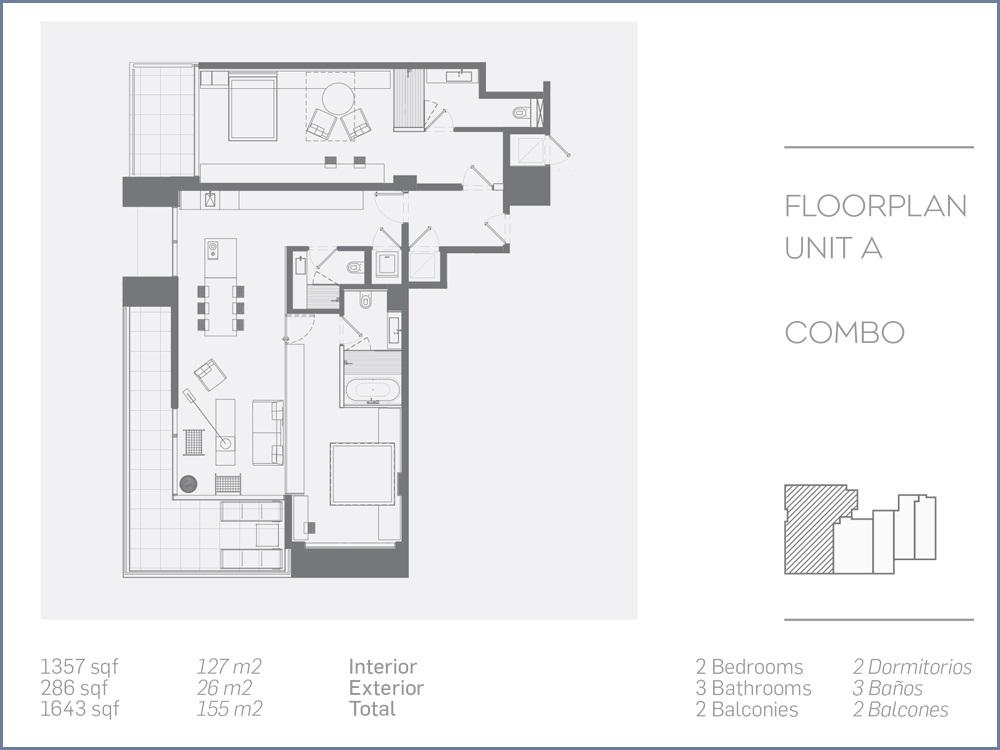 Esplendor Bay Hotel - Floorplan 1