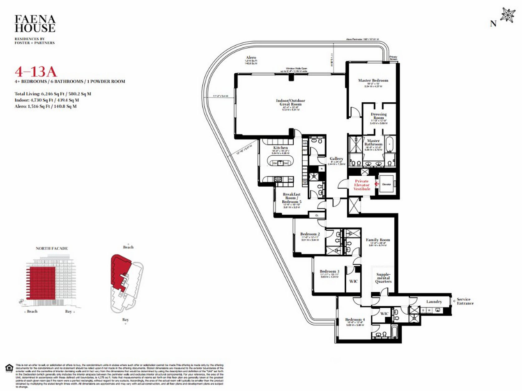 Faena House - Floorplan 2