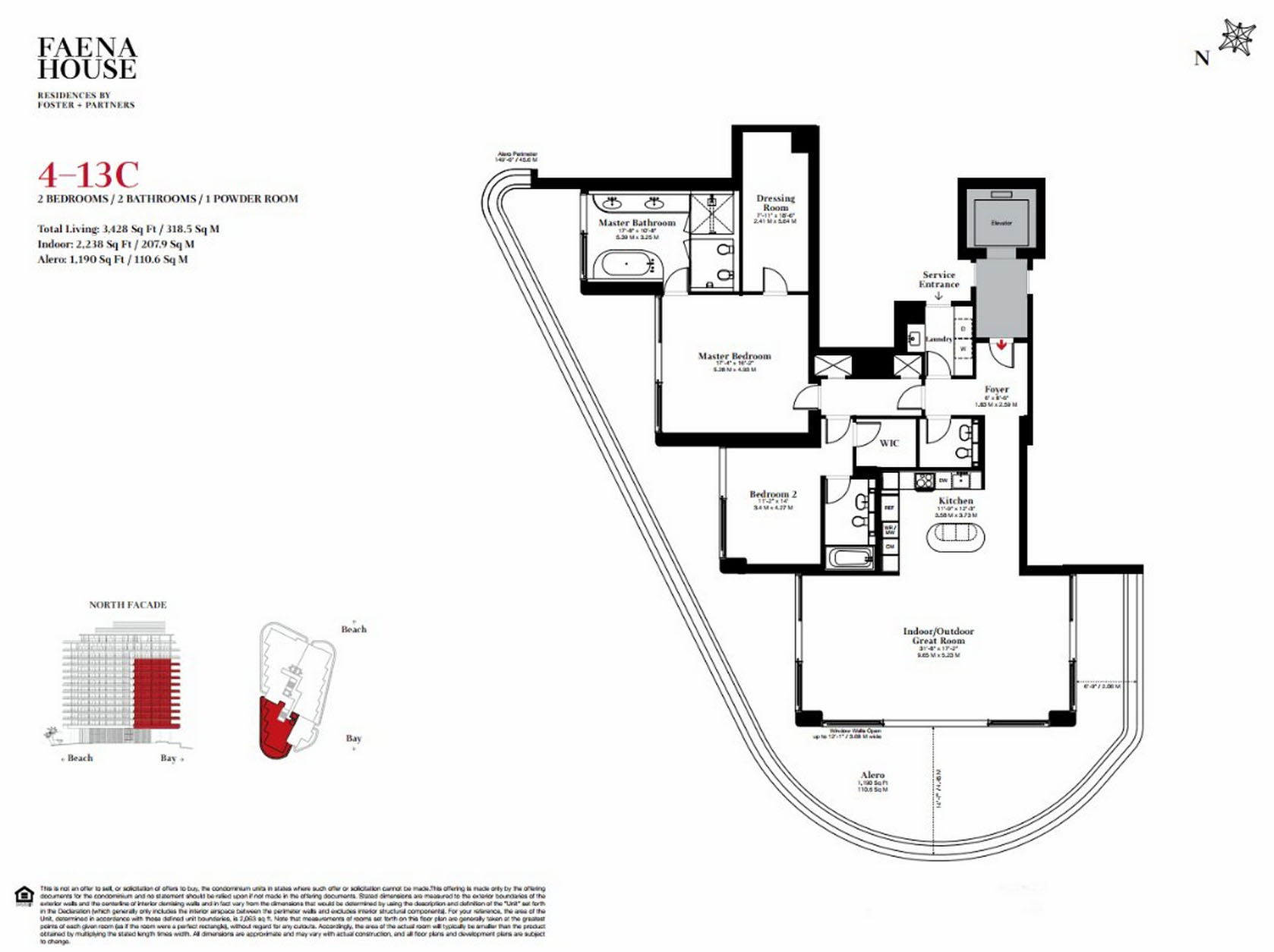Faena House - Floorplan 3