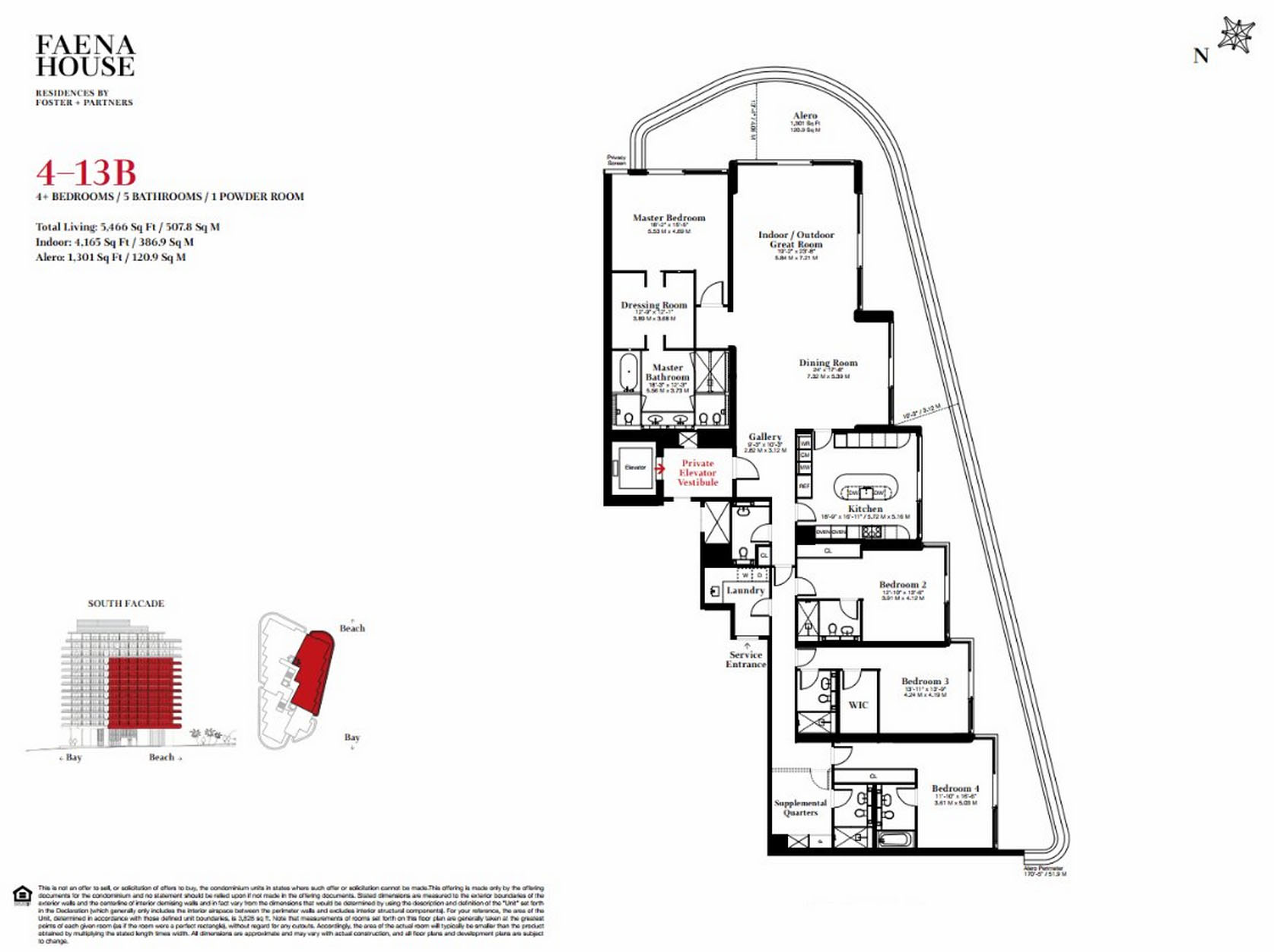Faena House - Floorplan 4