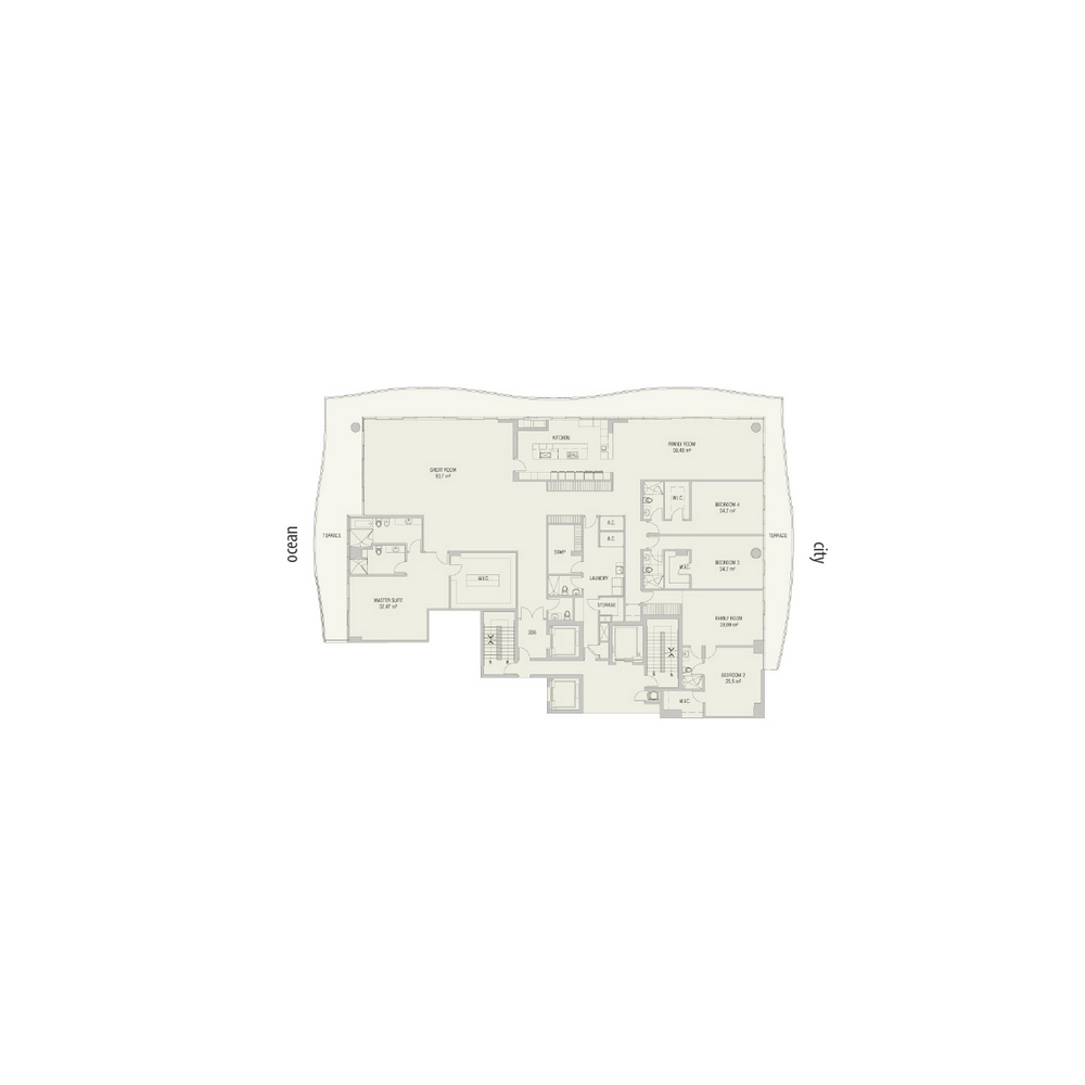 Fendi Chateau Residences - Floorplan 4